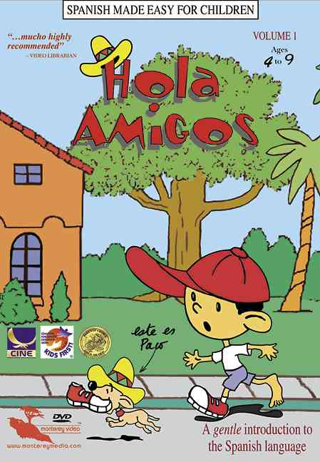 HOLA AMIGOS VOL 1 BY PACO THE CHIHUAHUA (DVD)